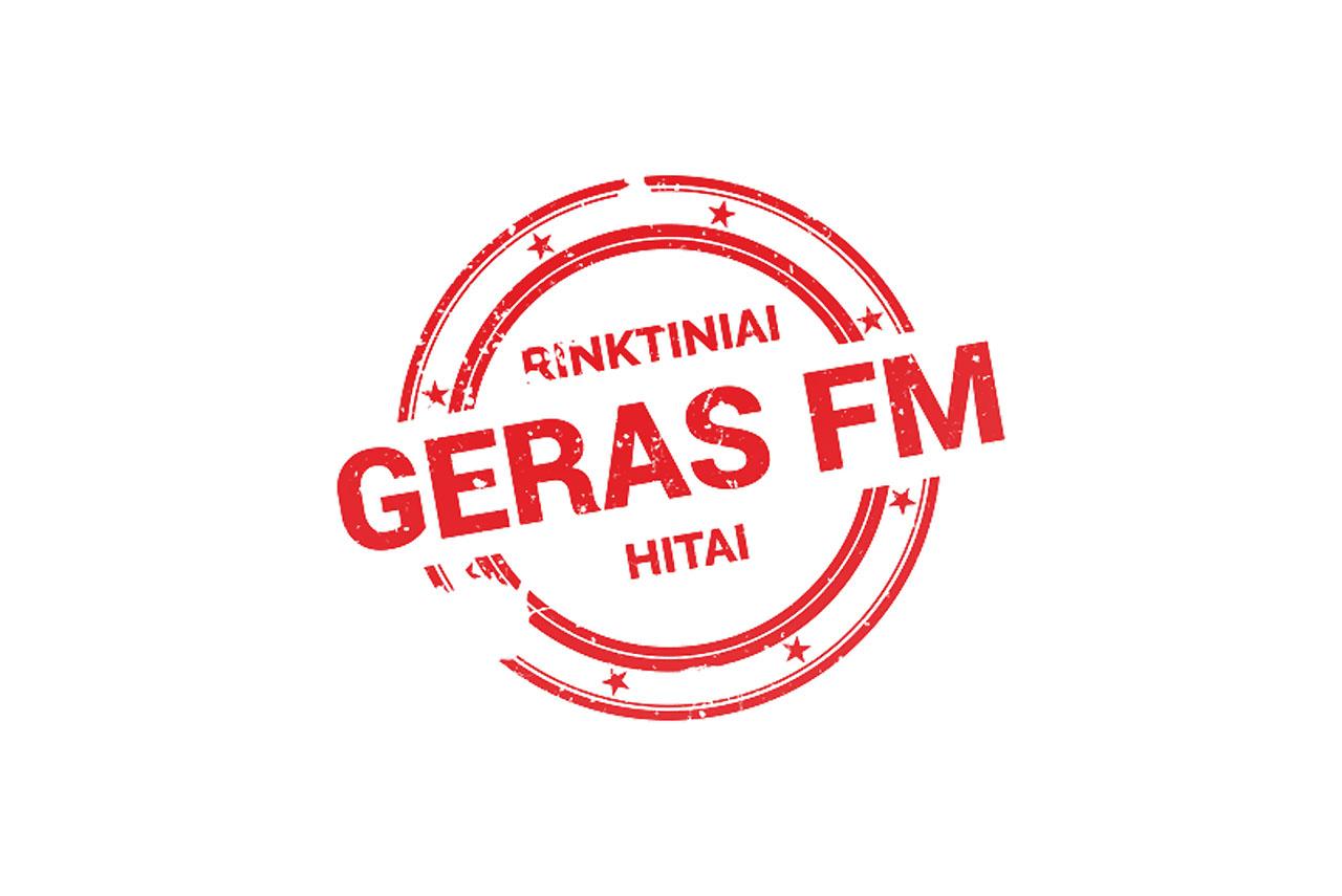 Geras FM logotipas