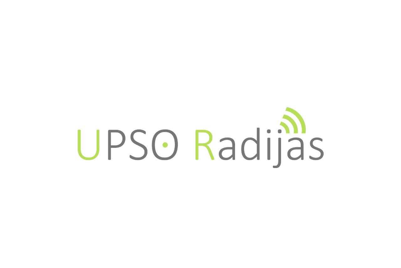 Upso radijas logotipas